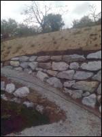 Steinmauer Steinschlichtung Schödl
